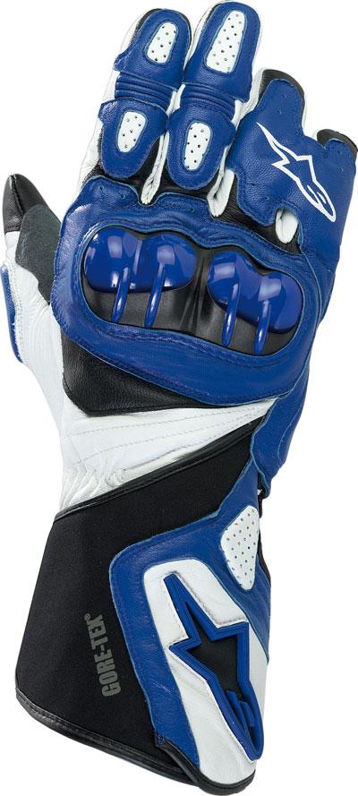 Alpinestars 365 Gore-tex leather gloves blue