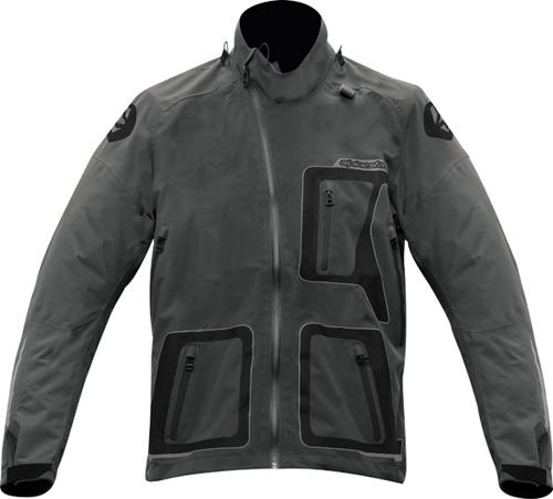 Alpinestars Erzberg Waterproof For Bns off-road jacket gray