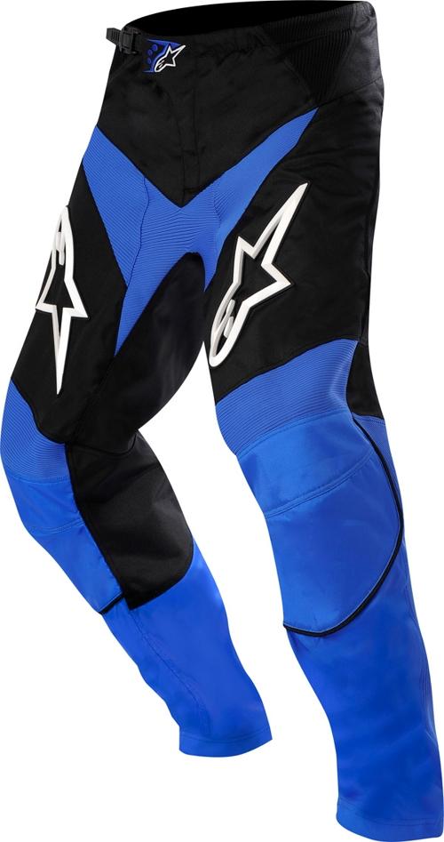 Pantaloni cross Alpinestars Racer blu-nero-bianco