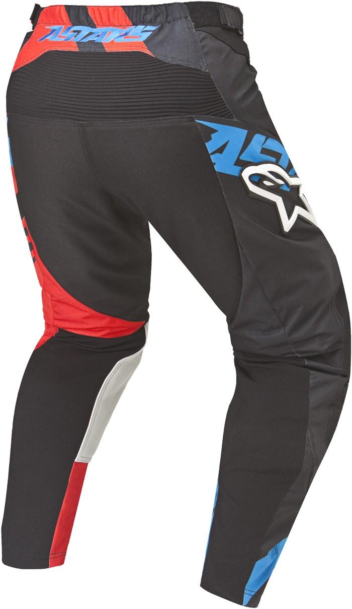 Alpinestars Racer Supermatic pants cross Black Red Blue