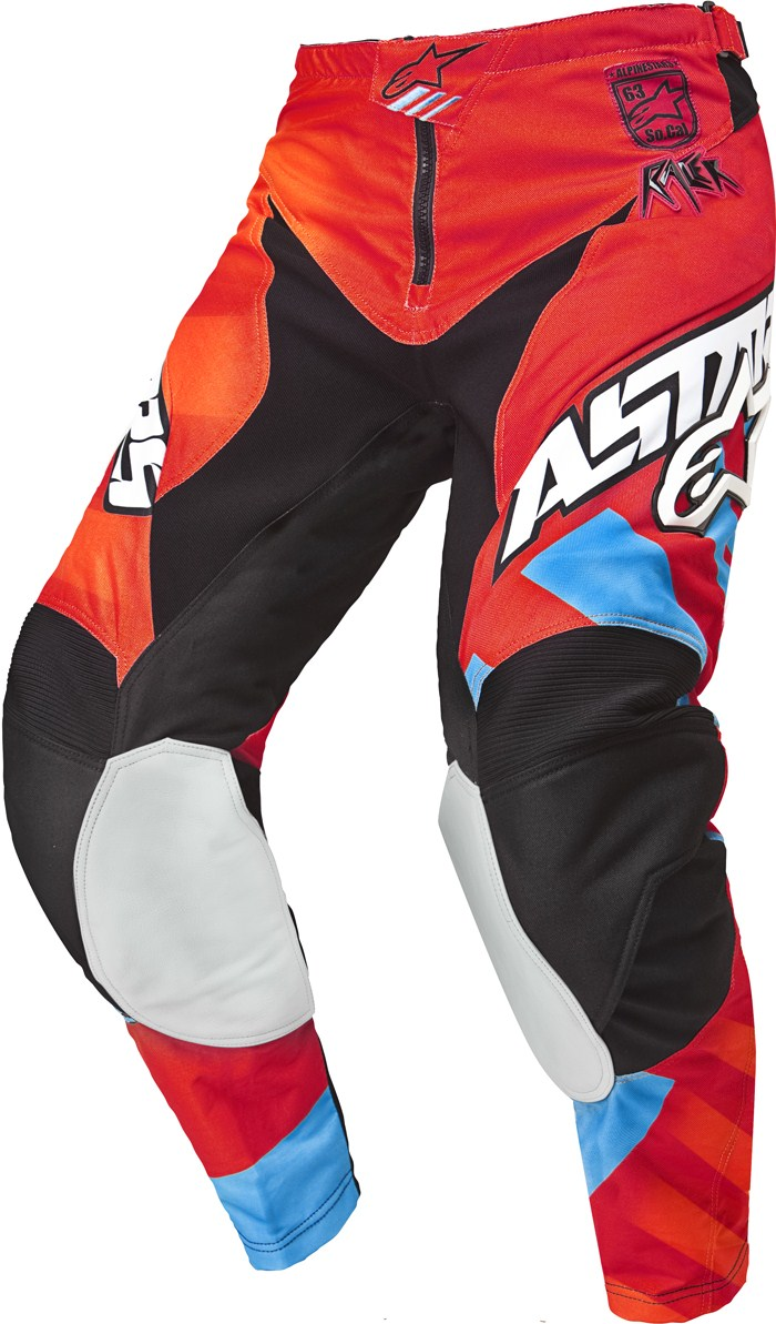 Alpinestars Youth Racer Braap cross pants Red Orange