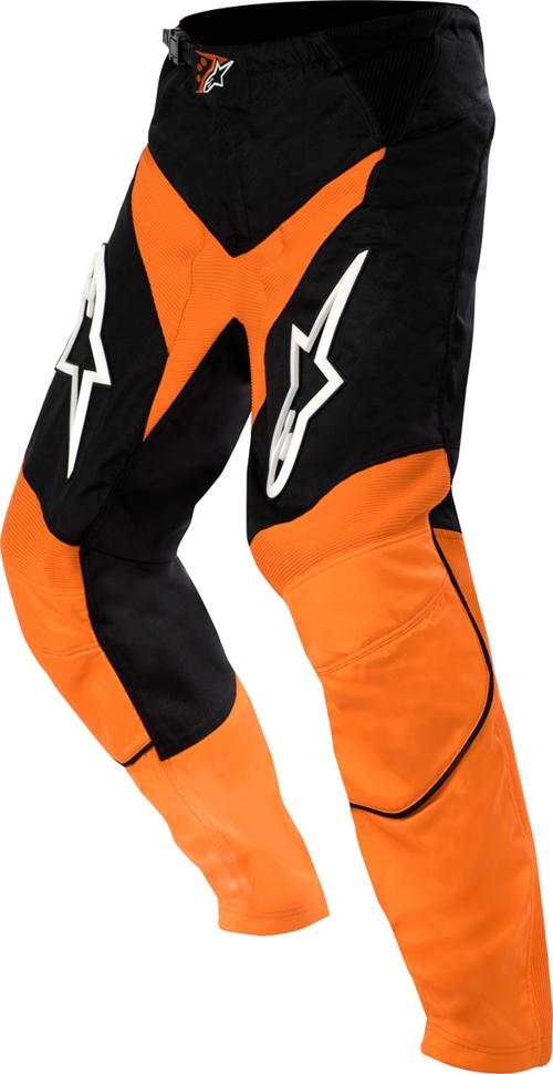 Pantaloni cross bambino Alpinestars Youth Racer arancio-nero