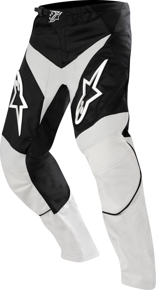 Alpinestars Youth Racer off-road pants gray-black-white