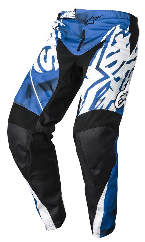 Pantaloni cross bambino Alpinestars Racer Blu Nero