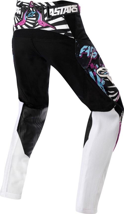 Alpinestarsstella Charger women off-road pants sky-violet-black
