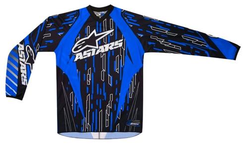 Alpinestars Racer off-road jersey blue-black-white