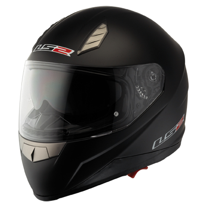 LS2 FF384 Blade II full face helmet Matt Black