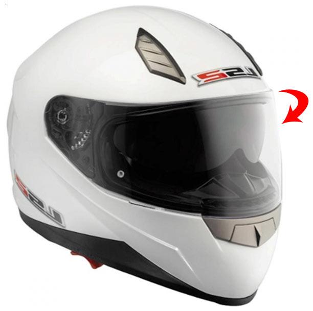 Casco moto integrale LS2 FF384 Blade II Bianco