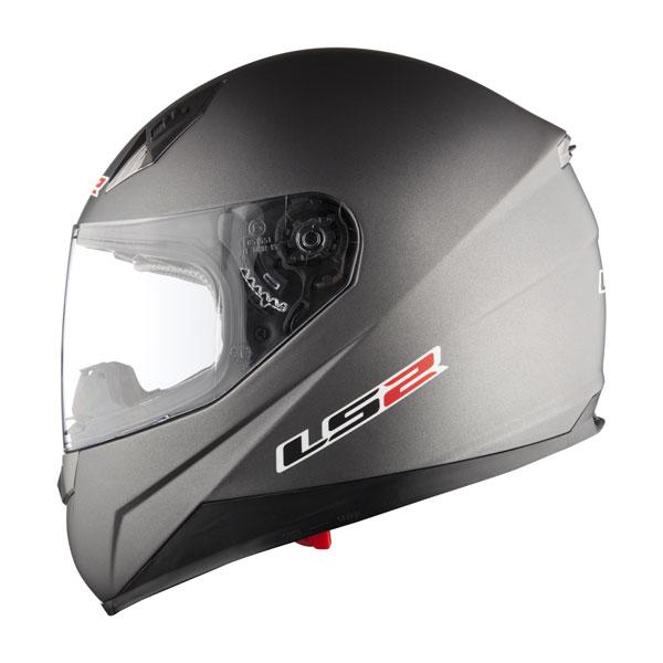 Motorcycle helmet full LS2 FF384 Blade II Titanium Matte