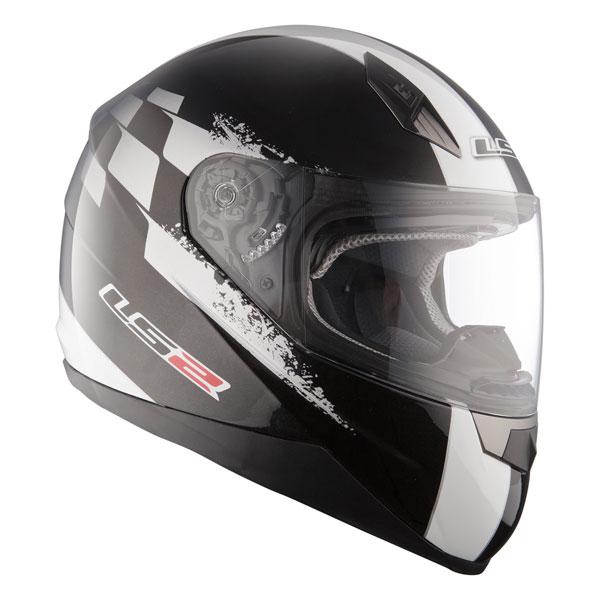 Motorcycle helmet full LS2 FF384 Black Tuner