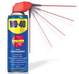 WD-40 500ml, Spray Lubricant and unblocking, Dual Action Spray P