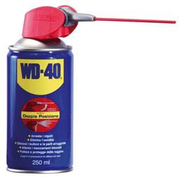 WD-40 250ml, Spray Lubrificante e Sbloccante, Spray Professional