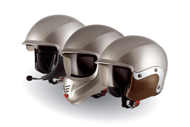 Casco moto Suomy 3LOGY doppia omologazione P-J bianco