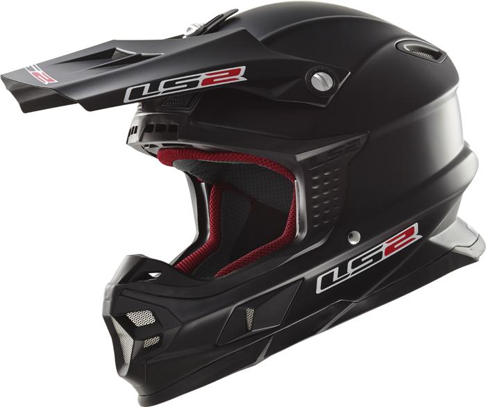 Ls2 MX456 Light cross helmet matte Black
