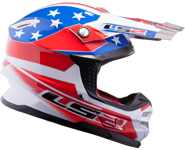 Casco cross LS2 MX456 Tuareg USA
