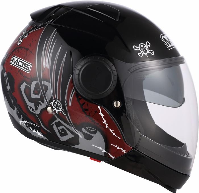 Mds by Agv Sunjet Multi Tuft helmet red