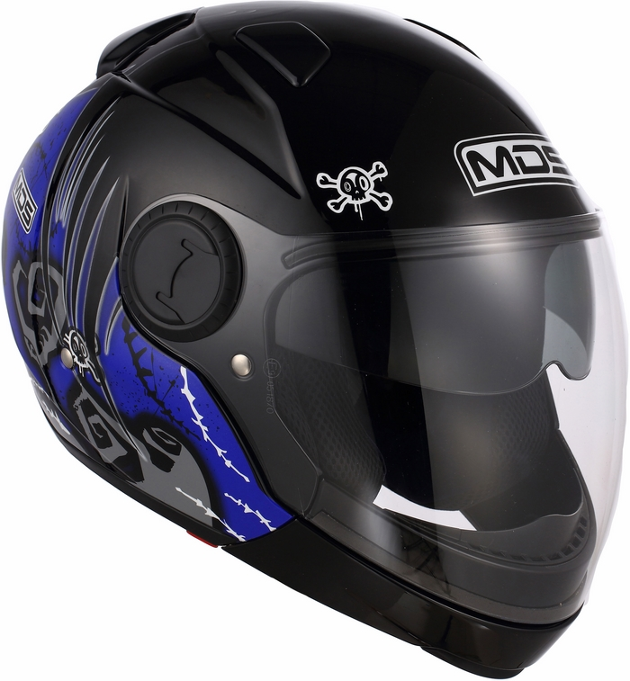 Mds by Agv Sunjet Multi Tuft helmet blue