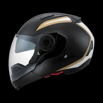 Diesel New Jack 70S flip off helmet Black White Gold