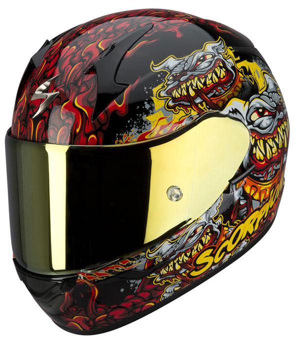Full face helmet Scorpion EXO 410 Hellhound