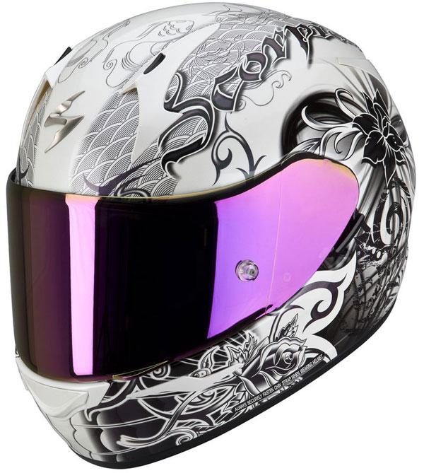 Full face helmet Scorpion EXO 410 Orchid