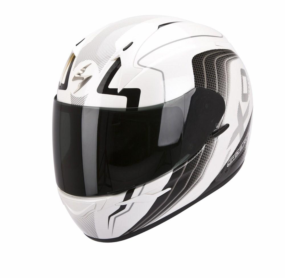 Scorpion Exo 410 Air Altus full face helmet white black