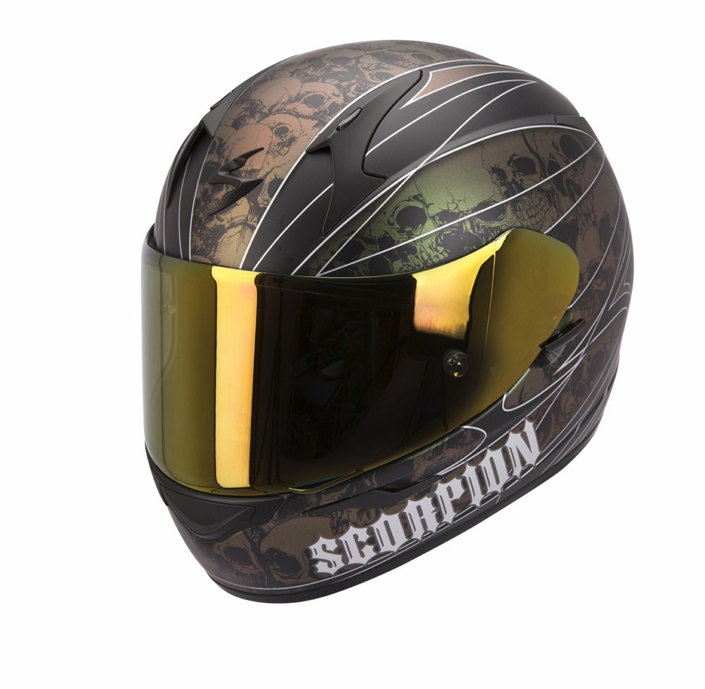Scorpion Exo 410 Air Underworld full face helmet black chameleon