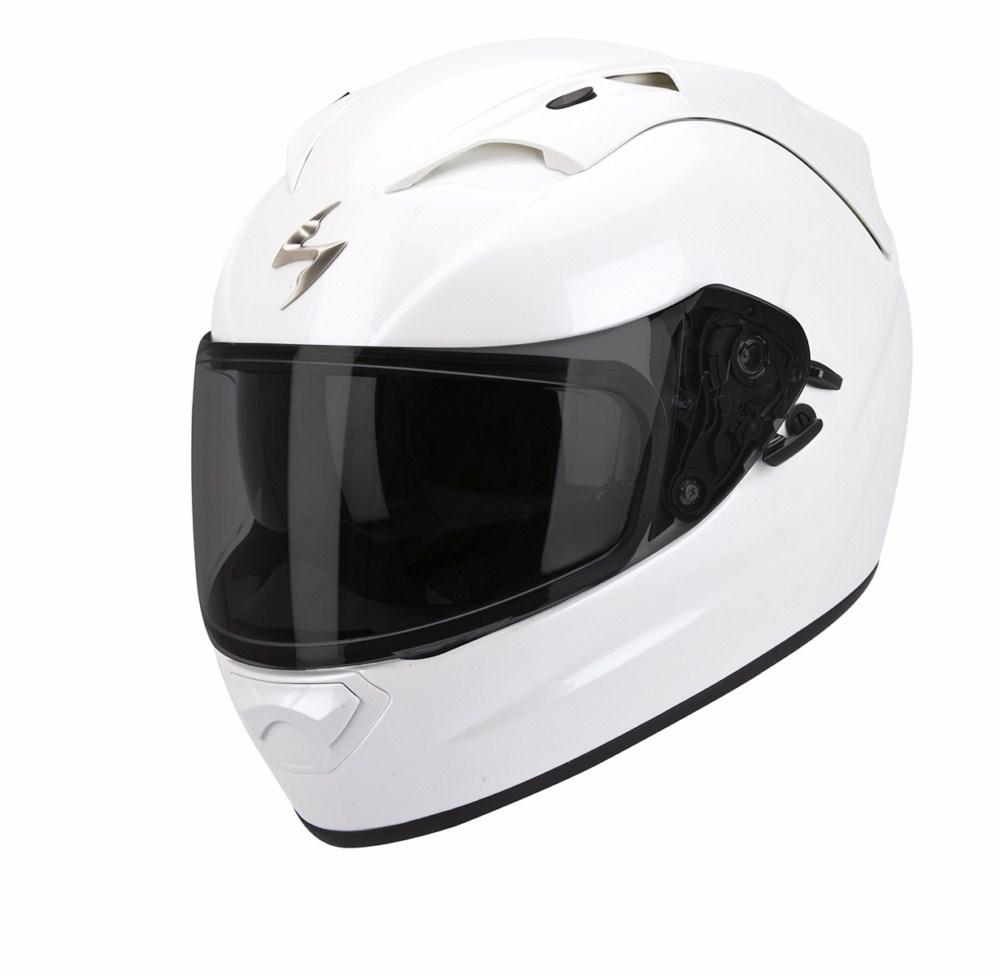 Scorpion Exo 1200 Air Solid full face helmet white