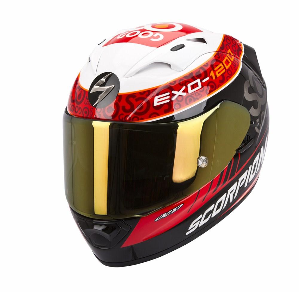 Scorpion Exo 1200 Air full face helmet Replica Charpentier