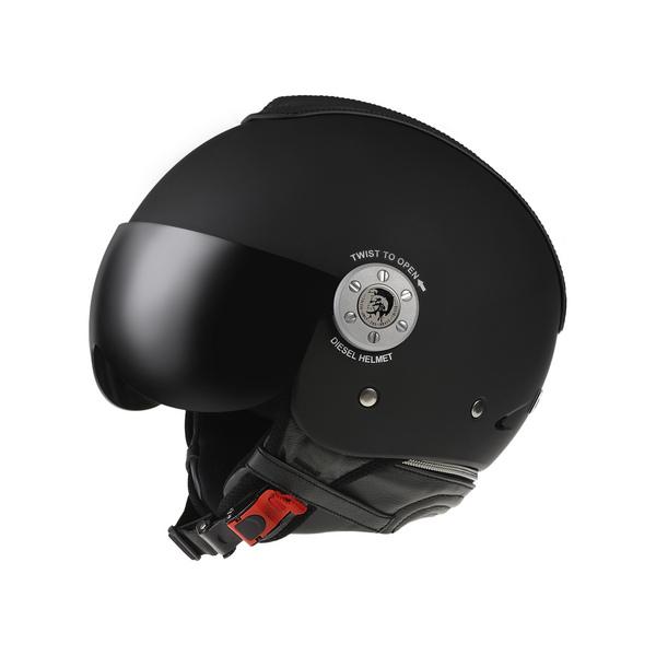 Casco moto Diesel Mowie Mono nero opaco