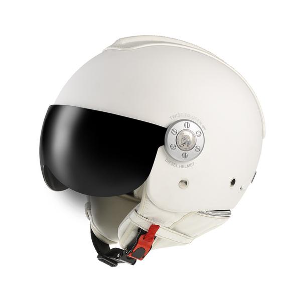Casco moto Diesel Mowie Mono bianco opaco