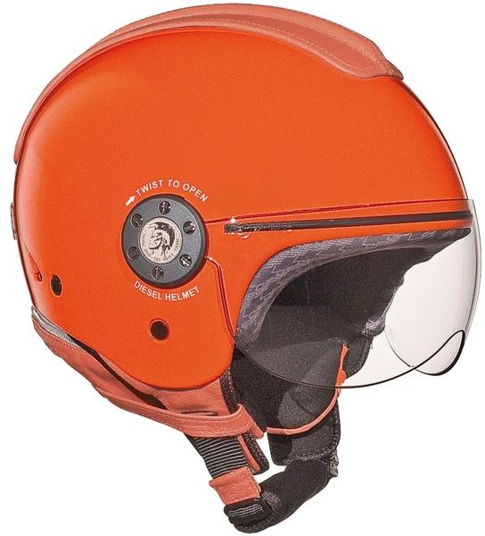 Diesel Mowie jet helmet orange