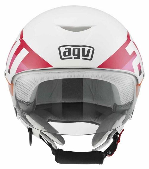 Agv Bali II Multi Colourway jet helmet