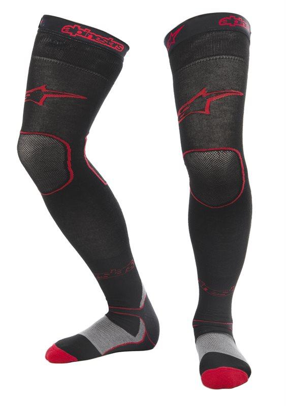 Technical long socks Alpinestars MX Long Black Red