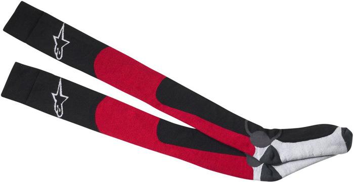 Technical socks Alpinestars Long Thick Red Black