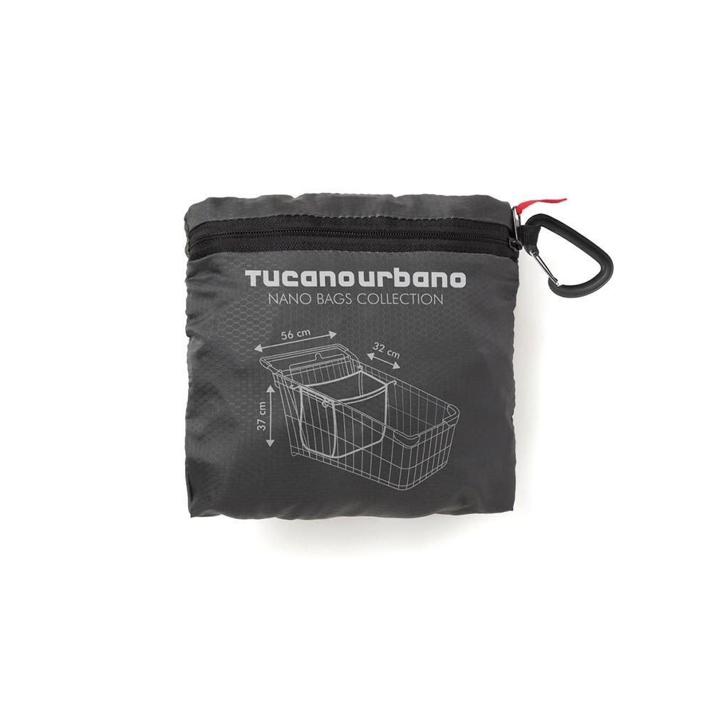 Borsa shopper Tucano Urbano Nano Family shopper bag Nero Titanio