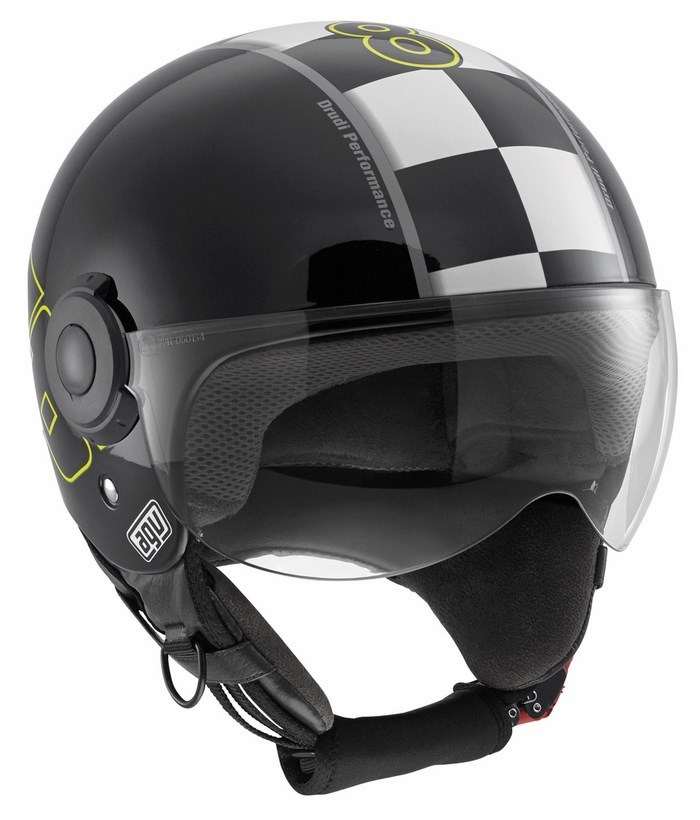 Agv City Bali Copter Top Vale 46 helmet black