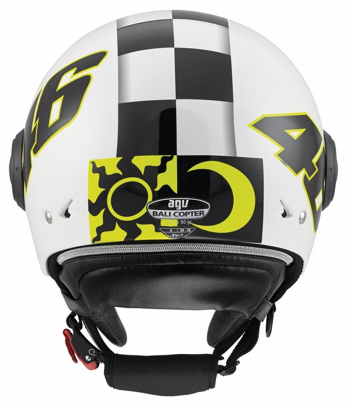 Agv City Bali Copter Top Vale 46 helmet white