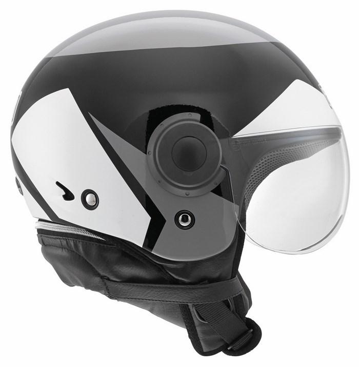 Casco moto Agv Bali Copter Multi Visual nero grigio bianco