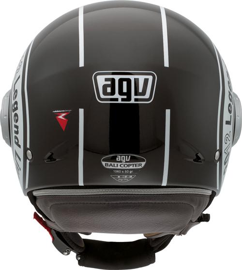 Casco moto Agv Bali Copter Multi Legend nero