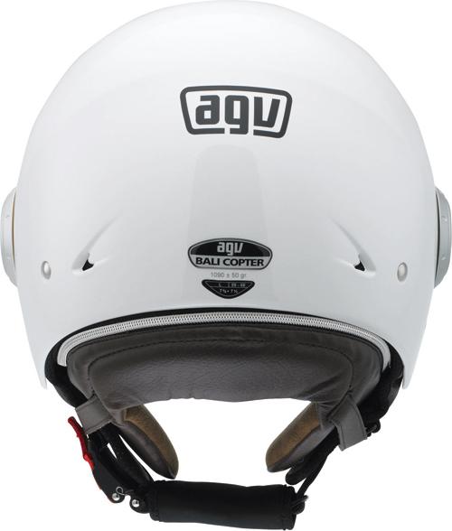 Casco moto Agv Bali Copter Mono bianco