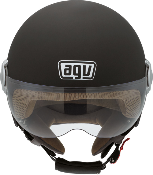 Casco moto Agv Bali Copter Mono nero opaco
