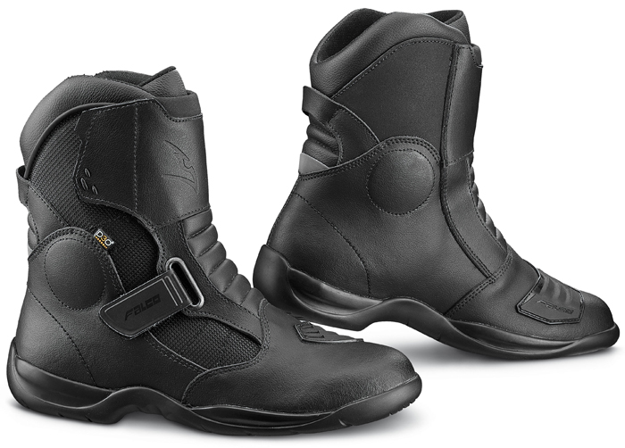 Black Falcon Cruise Motorcycle Boots