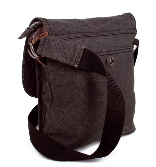 Tucano Urbano Fleix 1580 485 coated cotton flight bag black