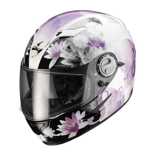 Full face helmet Scorpion Exo 500 Nelly White Purple