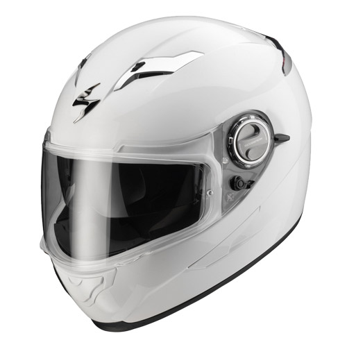 Casco integrale Scorpion Exo 500 Air Bianco