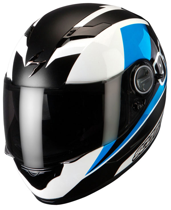 Full face helmet Scorpion Exo 500 Evo White Blue