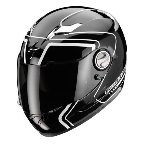 Scorpion Exo 500 Air West full face helmet Black White