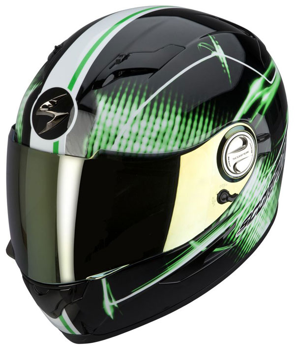 Casco integrale Scorpion EXO 500 Quasar Nero Verde