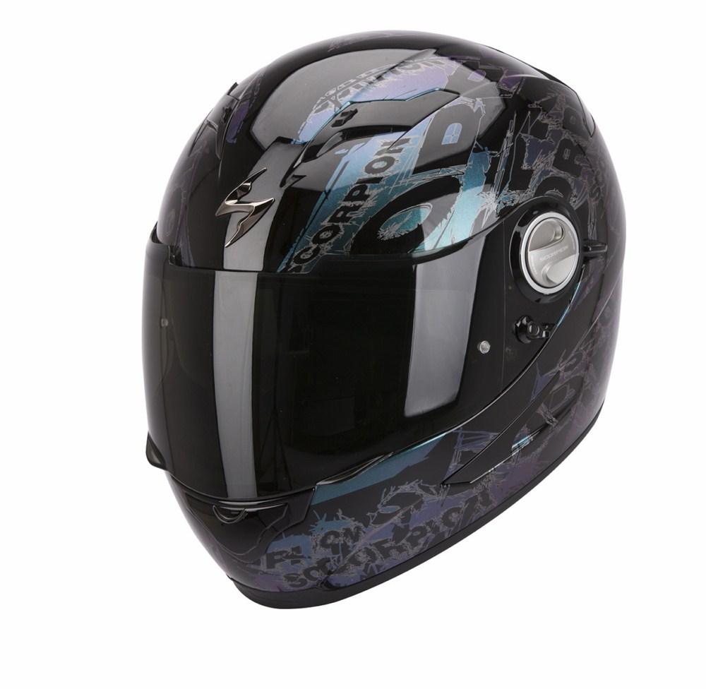 Scorpion Exo 500 Air Crust full face helmet black chameleon