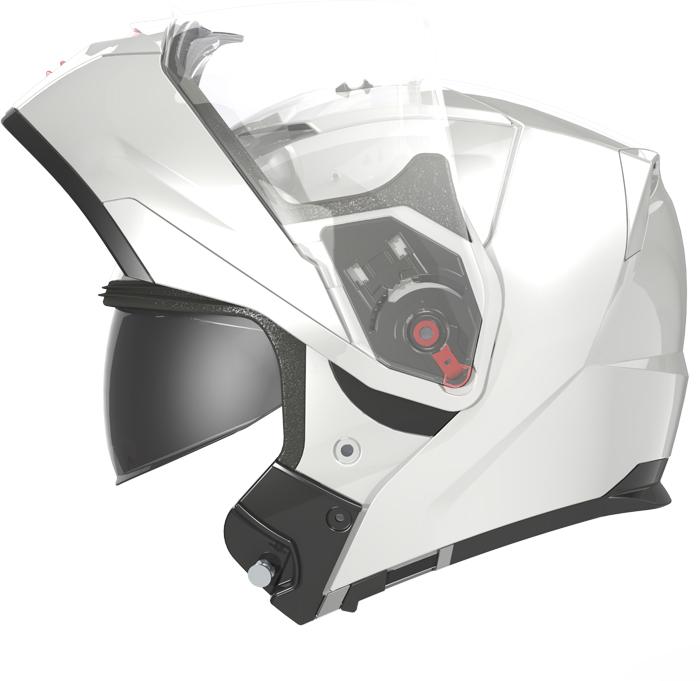LS2 FF324 Metro flip off helmet matte Titanium